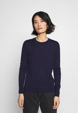 Jersey de punto - navy heather