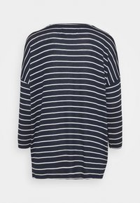 Vero Moda Tall - VMBRIANNA - Jumper - navy blazer/with snow white stripes - 1