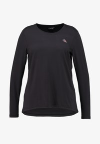 Active by Zizzi - ABASIC - Sports shirt - black - 3