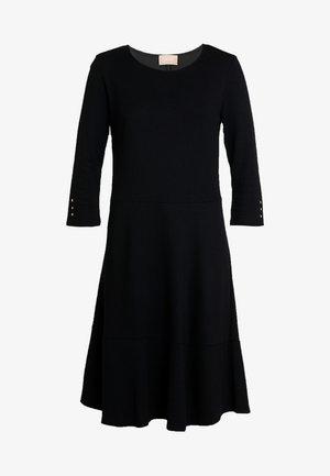 KLEID UNGEFÜTTERT - Jersey dress - black