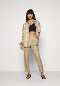 Nly by Nelly - ALL I NEED SHACKET - Summer jacket - beige - 1