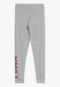 Puma - ALPHA - Leggings - Trousers - light gray heather - 1