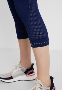 adidas by Stella McCartney - ESSENTIALS SPORT CLIMALITE 3/4 LEGGINGS - 3/4 sports trousers - dark blue - 4