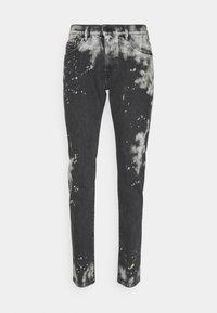 Diesel - Džíny Slim Fit - black/white - 0