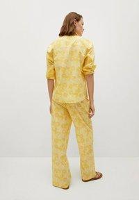 Mango - Trousers - amarillo - 2
