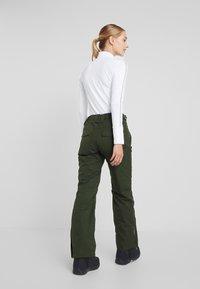 Rojo - PANT - Pantaloni da neve - kombu green - 2