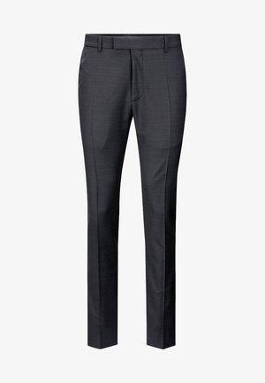 GUN - Pantalon - mottled black-gray