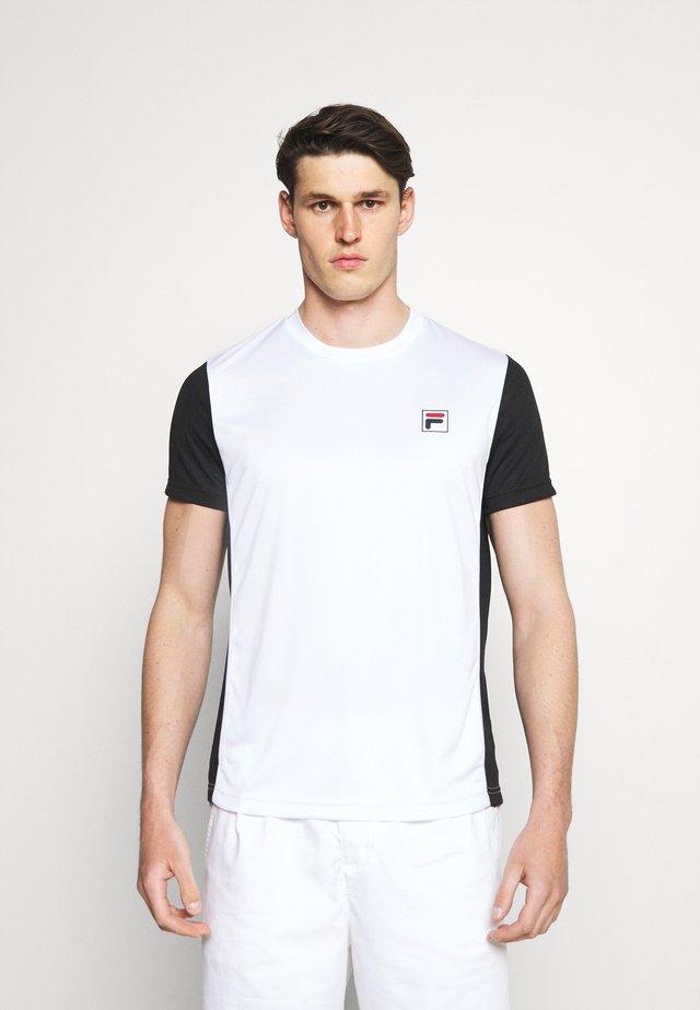 JEROME - Print T-shirt - white