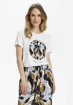 KAKISA - T-shirts print - optical white