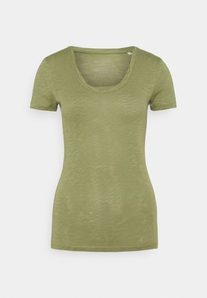 TWISTED DEEP - Basic T-shirt - dried sage