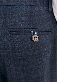 Next - BAKER BY TED BAKER - Oblekové kalhoty - dark blue - 6