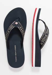 Tommy Hilfiger - RIRI  - Flip Flops - red/white/blue