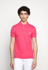 Polo Ralph Lauren - SLIM FIT MESH POLO SHIRT - Polo shirt - hot pink - 0