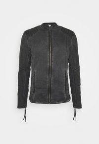 Tigha - TOMAS - Denim jacket - vinatge black - 4
