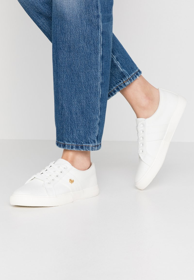 Lauren Ralph Lauren - JANSON  - Trainers - optic white