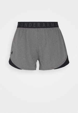 PLAY UP SHORTS - Sports shorts - carbon heather