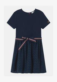 Tommy Hilfiger - COMBI - Žerzejové šaty - blue - 0