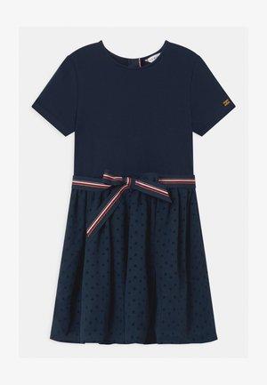 COMBI - Jersey dress - blue