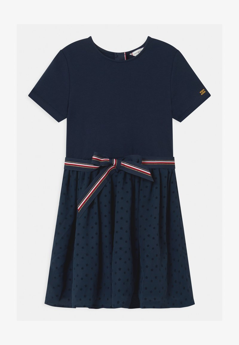 Tommy Hilfiger - COMBI - Jersey dress - blue