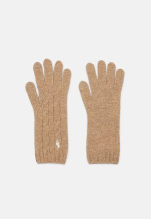 CLASSICCABLE GLOVE - Gloves - camel