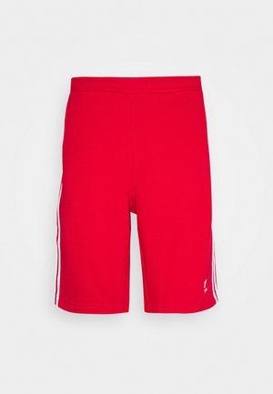 3-STRIPE UNISEX - Tracksuit bottoms - red