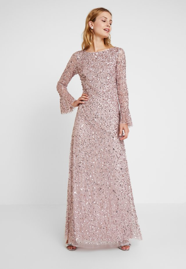 BEADED LONG DRESS - Galajurk - cameo
