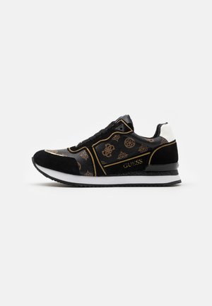 AGOS - Sneakers laag - brown/ocra