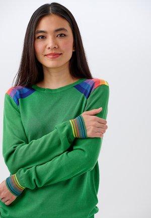 RITA DOUBLE PRISM - Sweter - green