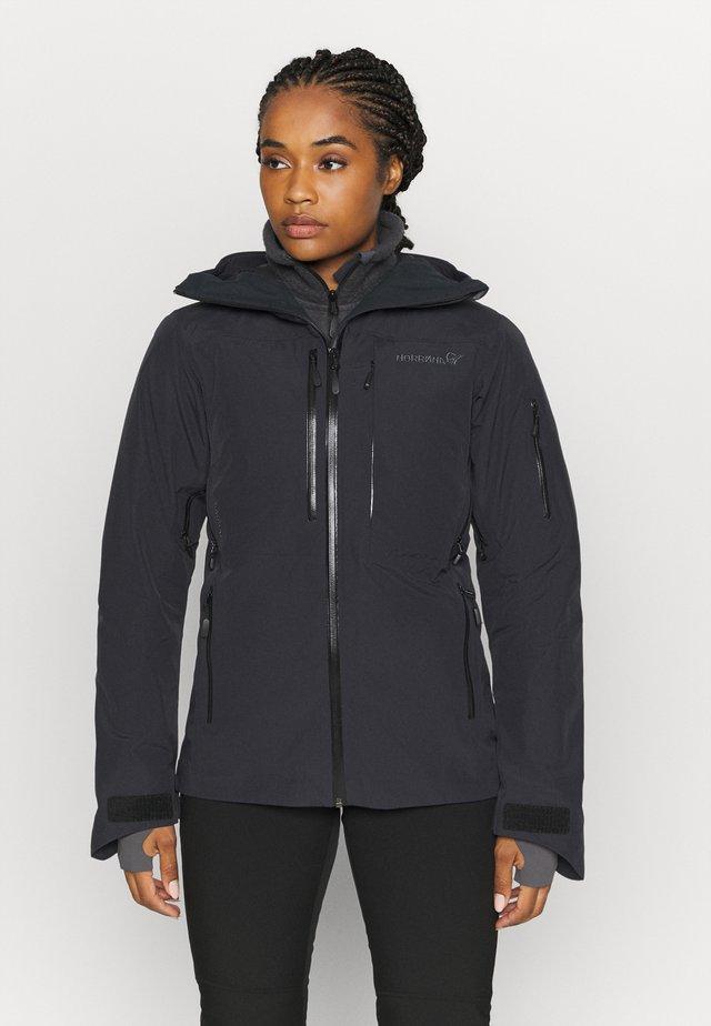 LOFOTEN GORE TEX JACKET - Ski jacket - black
