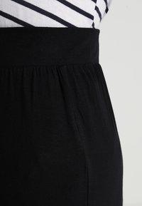 Zizzi - ANGLE SKIRT - Maxi skirt - black - 4