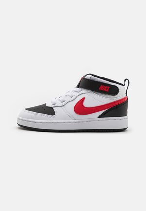 COURT BOROUGH MID 2 UNISEX - Sneaker high - white/universe red/black