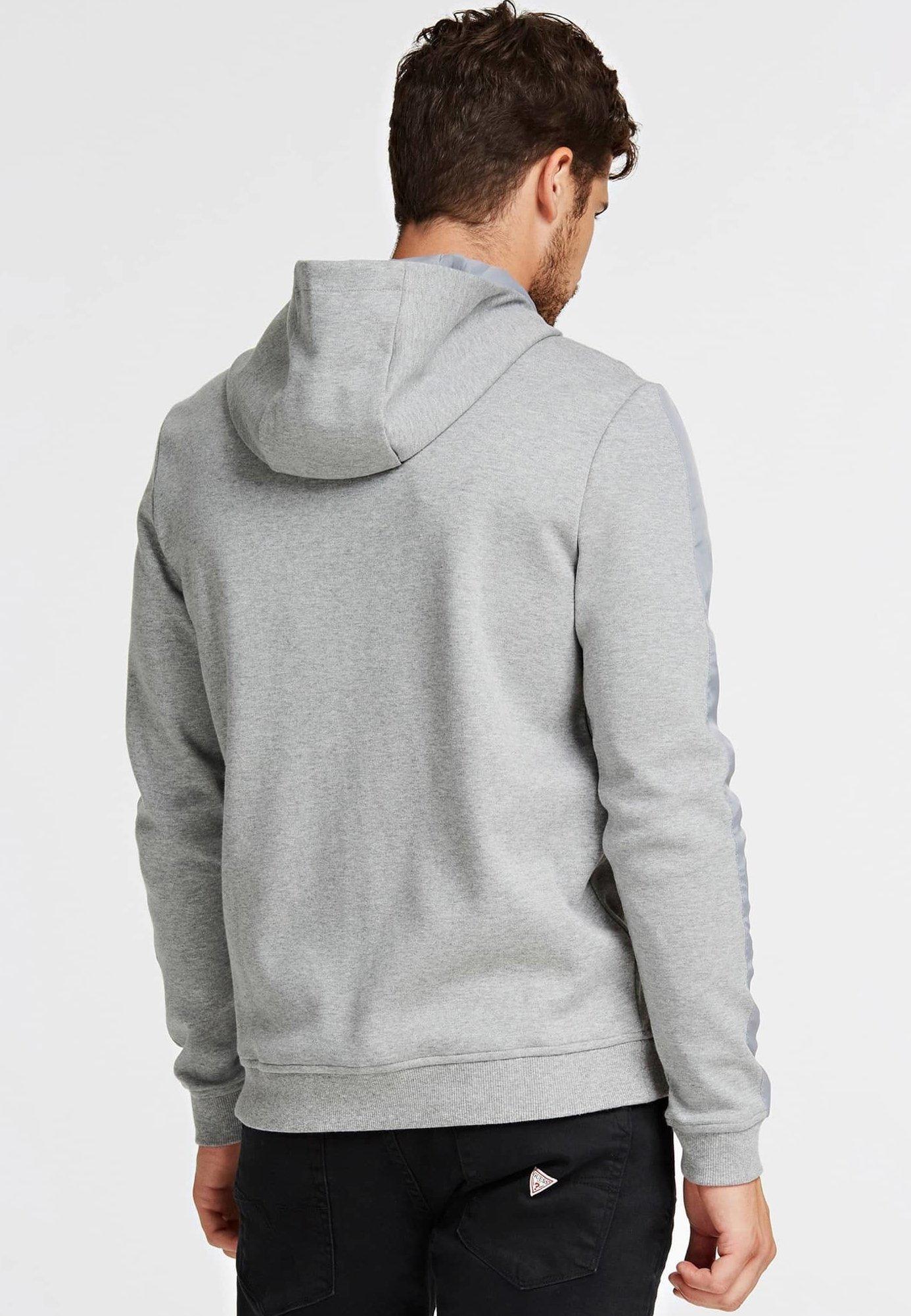 Guess MIT REISSVERSCHLUSS - veste en sweat zippée - grey