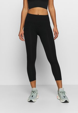 SEAMLESS LEGGINGS  - Collants - black