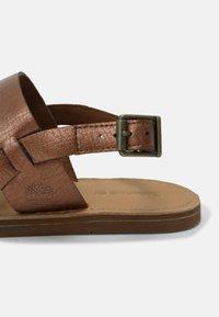 Timberland - CAROLISTA SLINGBACK - Sandals - medium brown - 7