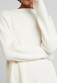 Culture - CUOLIVIA  - Stickad tröja - whitecap melange - 5