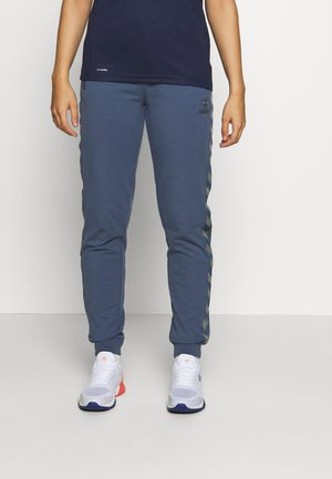 HMLMOVE CLASSIC  - Tracksuit bottoms - bering sea