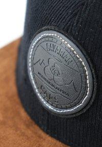 Bavarian Caps - ALPINUM GAMSKRESSE - Cap - schwarz - 2