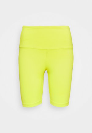 BEYOND THE SWEAT SHORT - Tights - yellow flare
