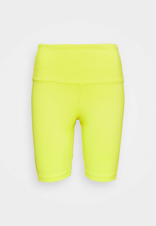 BEYOND THE SWEAT SHORT - Trikoot - yellow flare