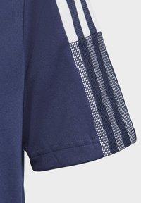 adidas Performance - TIRO 21 TRAINING JERSEY - Print T-shirt - blue - 3