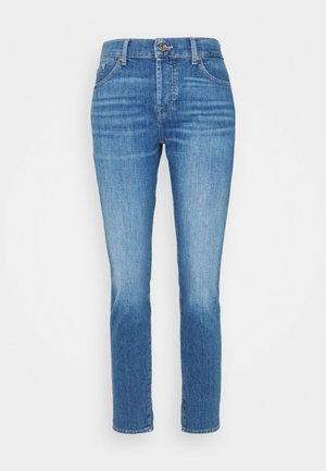 ASHER LEFT HAND RESTORE - Straight leg jeans - mid blue