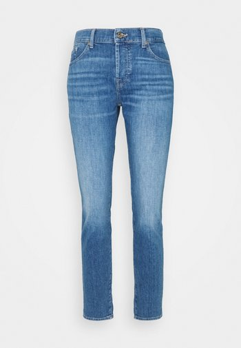 ASHER LEFT HAND RESTORE - Straight leg jeans - mid blue
