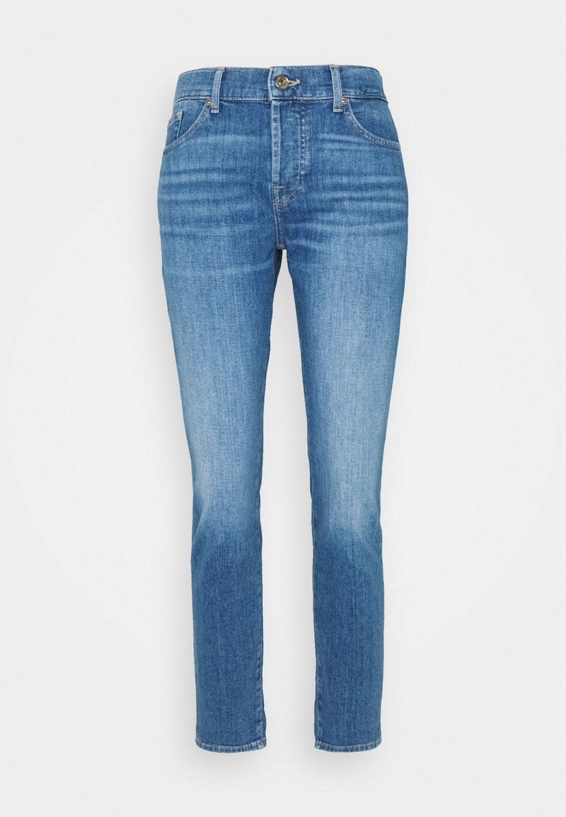 7 for all mankind - ASHER LEFT HAND RESTORE - Straight leg jeans - mid blue