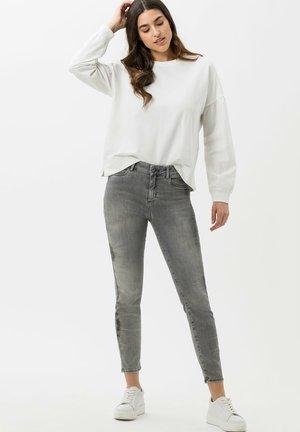 ANA S - Jeans Skinny Fit - used tie dye grey