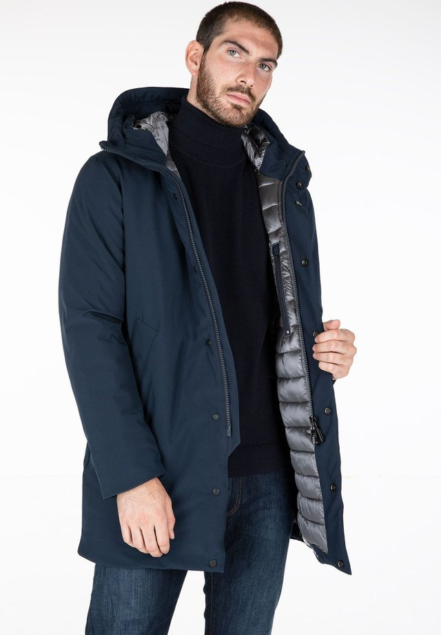 ABERDEEN THERMAL - Cappotto invernale - poseidon blue