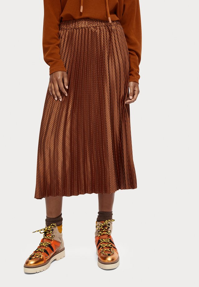 A-snit nederdel/ A-formede nederdele - kupfer