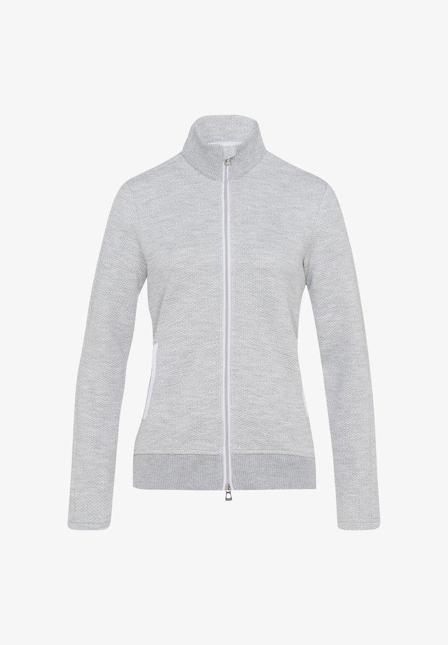 STYLE JANA 1 - veste en sweat zippée - grey melange