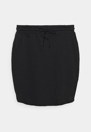 CLASH SKIRT - Mini skirt - black
