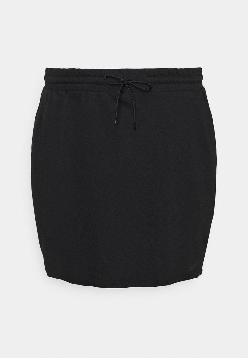 Nike Sportswear - CLASH SKIRT - Mini skirt - black