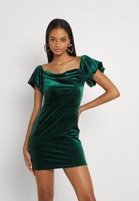 TFNC - ANIKA DRESS - Cocktail dress / Party dress - dark green - 0